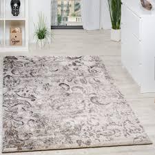 webteppich florales muster wohnzimmer