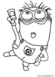 Jerry Dance The Minion Coloring Page Pages Print Download 580 Prints 2016 01 05