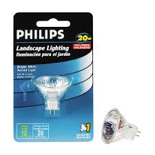 shop philips 20 watt bright white mr11 halogen light fixture light