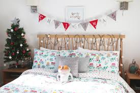 Icicle Lights In Bedroom by Zoella Christmas Home Touches