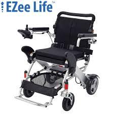 Ezee Life 3G DLX Folding Electric Wheelchair W/ 8
