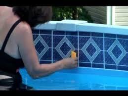 borderlines pool borders adhesive pool tile at poolborders