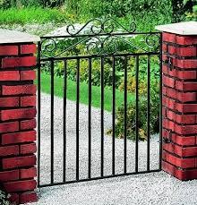 Marlborough Metal Garden Gate 3ft High Garden Gates Direct