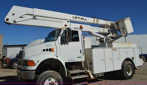 Lift All L0M-50-2S Bucket Lift   Item I6371   SOLD! November... Bucket Trucks 400s Telescopic Boom Lift Jlg 1998 Gmc C7500 Liftall Lan65 Truck For Sale Youtube Intertional 4300 2007 Tc7c042 Material Handling Wliftall Lom1055 Freightliner M2 4x4 Lanhd752e 80 A Hydraulic Lift Bucket Truck On The Street In Vitebsk Belarus Ford F750 For Sale Heartland Power Cooperative Aerial 3928tgh By Van Ladder Video W Forestry And Body