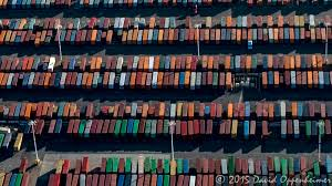 100 Shipping Containers San Francisco Bay Area Aerial Photography Travel