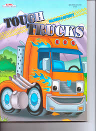 100 Tough Trucks Coloring Activity Book Kappa Amazoncom Books