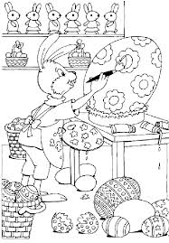 Easter Holiday Spring Coloring Pages Free For Kids Download Bunny Chicks Disney Duck Eggs Printable Book To Color 10