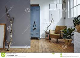 100 Urban Loft Interior Design Industrial Building Vintage Furniture Stock Image