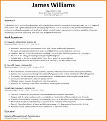 100 Dental Assistant Resume Templates Assistant Lovely Assistant For