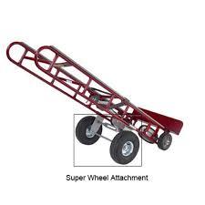 100 4 Wheel Hand Truck Wesco Super Attachment Walmartcom