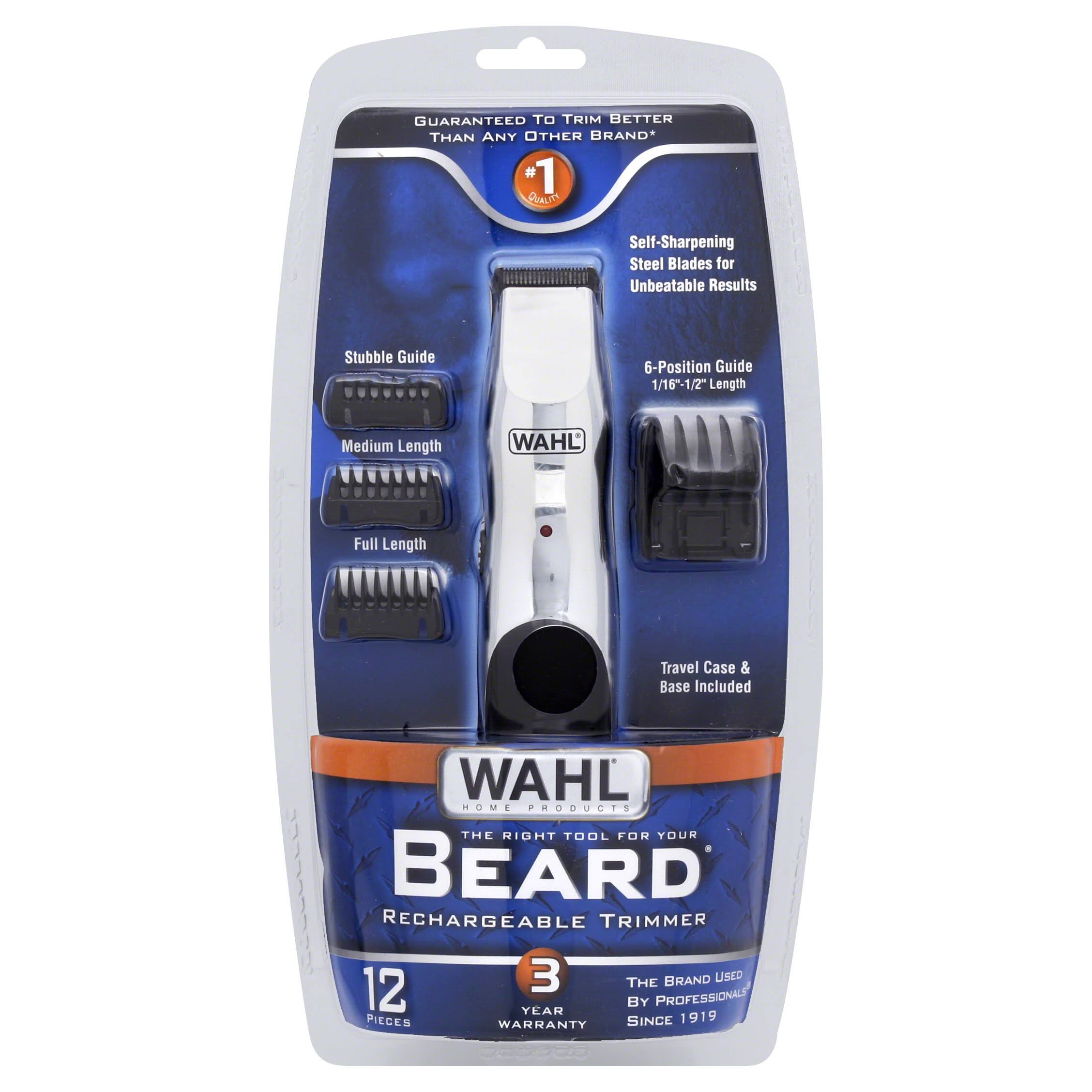 Wahl 9916 817 Groomsman Beard and Mustache Trimmer