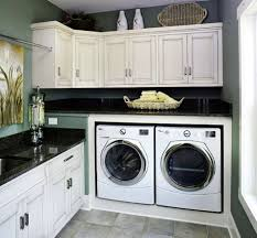 Ironing Board Cabinet With Storage by Interior Laundry Room Design Idea With Mdf Wall Cabinets And