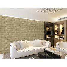 Home Depot Wall Tiles Self Adhesive by Donny Osmond Home 19 6 In X 19 6 In Self Stick Basket Weave