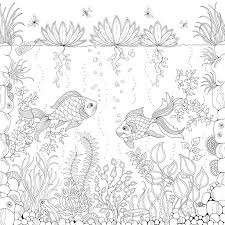 Illustrator Johanna Basford Has Created Her Own Secret Garden In The Form Of An Illustration And Colouring Book