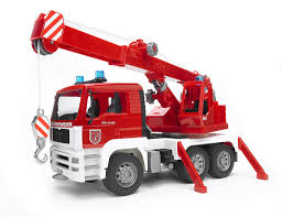Bruder - 02770 | Construction: MAN TGA Fire Engine Crane Truck With ... Authentic Bruder Toys Man Telecrane Tc 4500 Crane Truck New In Box Kavanaghs Bruder Mercedes Benz Arocs Crane Truck With Lights Yellow With 360degree Swiveling 02754 Cstruction Tga Castle 02769 Forestry Timber With Loading Amazoncom Man And 3 2 Mack Granite Liebherr Games Truck Franc Jeu Rosemere News 2017 Unboxing Dump Garbage Crane Tgs By Fundamentally