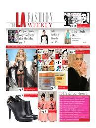 The LA Fashion