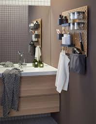 Pegboard Decorating Ideas | Bathroom In 2019 | Bathroom, Ikea ... Small Bathroom Cabinet Amazon Cabinets Freestanding Floor Ikea Sink Vanity Ideas 72 Inch Fniture Ikea Youtube Decorating Inspirational Walk In Capvating Storage With Luxury Super Tiny Bathroom Storage Idea Ikea Raskog Cart Chevron Marble Over The Toilet Ideas Over The Toilet Awesome Pertaing To Interior Wall Mounted Architectural Design Marvelous Best In