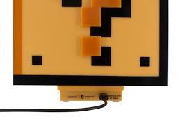 Mario Bros Question Block Lamp by Super Mario Question Block Light Coolstuff Com
