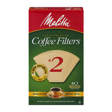 Melitta Natural Brown Paper 2 Size Cone Coffee Filters From Publix