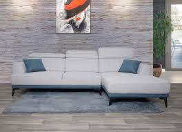 sofa hwc g44 ecksofa l form 3 sitzer liegefläche nosagfederung taschenfederkern verstellbar rechts hellgrau