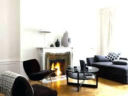 deco canapé deco canape noir canape noir et blanc design idee deco indogate