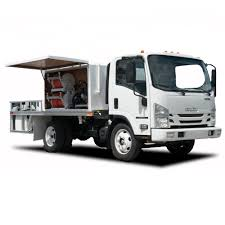 Isuzu NPR-HD Spray Truck For 13.5 Ft | MJ Truck Nation