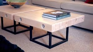 diy concrete and steel outdoor end table how to build welding