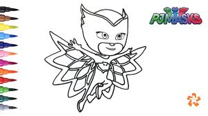 Owlette Coloring Pages Gallery