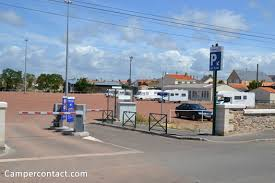 motorhome parking les sables d olonne aire de cing car la