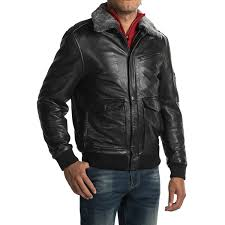 bod u0026 christensen leather bomber jacket for men save 68