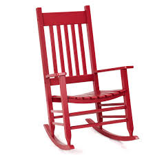 Giantex Outdoor Wood Rocking Chair Porch Rocker 100% Natural Solid Wooden  Indoor Deck Patio Backyard Living Room Rocking Chairs (Red) Charleston Acacia Outdoor Rocking Chair Soon To Be Discontinued Ringrocker K086rd Durable Red Childs Wooden Chairporch Rocker Indoor Or Suitable For 48 Years Old Beautiful Tall Patio Chairs Folding Foldable Fniture Antique Design Ideas With Personalized Kids Keepsake 3 In White And Blue Color Giantex Wood Porch 100 Natural Solid Deck Backyard Living Room Rattan Armchair With Cushions Adams Manufacturing Resin Big Easy Crp Products Generations Adirondack Liberty Garden St Martin Metal 1950s Vintage Childrens