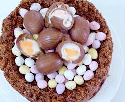 How To Make An Easter Nest Cake