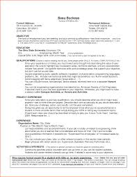 No Experience Resume Sample Templates Example Work Examples For Students Objective Non Experienced Retail Cna
