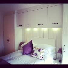 Bedroom Romantic Small Design Purple Cushion In The Matttress Creative Fitting Ideas