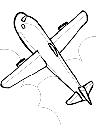 Airplane Coloring Page Handipoints Color Pages For Kids Educations