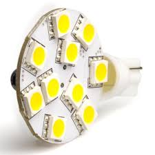 disc type t10 led bulb ac dc 12v 3200k warm white torchstar