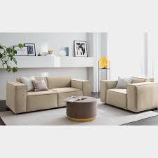 sofa kinx ii beige samt