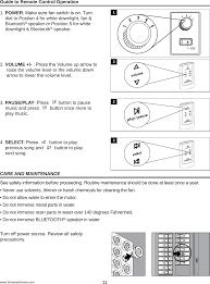 Ceiling Joist Span Table by Homewerks2 Bluetooth Speaker Bath Fan User Manual Homewerks