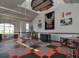Top Photos Ideas For Garages In Bath by Harley Davidson Home Flooring Garage Floors By Racedeck