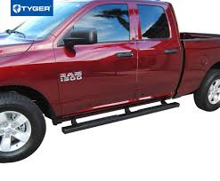 RISER 2009-2018 Dodge Ram 1500 Quad Cab 4inch Black Side Step Nerf ...