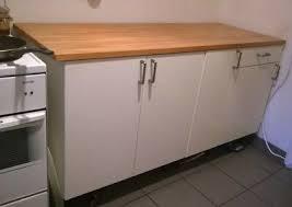 küchenschrank weiss v ikea mit buche arbeitsplatte eur