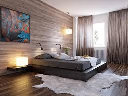 Bedroom Cool Bedroom Design With Black Low Platform Bed And Black