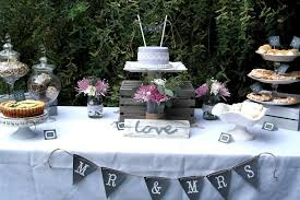 Lavender And Lace Rustic Bridal Shower