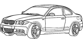 BMW Car 1 Series Coloring Pages