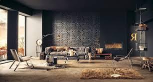 der neue trend 41 ideen für wandpaneele mit steinoptik