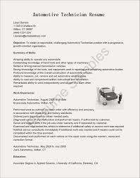 Pharmacy Technician Resume Examples Beautiful Tech Automotive Mechanic
