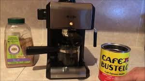 How To Use Mr Coffee Steam Espresso Cappuccino Maker