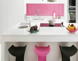 Elegant Kitchen Interiors Pink Interior Design Architecture And Furniture Decor
