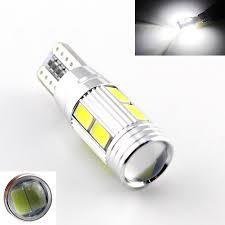Car Auto LED T10 194 W5W Canbus 10 SMD 5630 5730 LED Light Bulb No