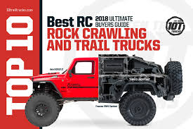 RC Rock Crawlers & Best Off Road Remote Controlled Trail Trucks